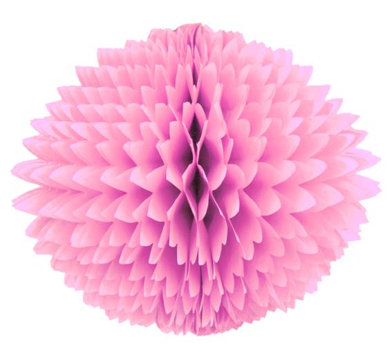 BOLA POM POM Rosa Claro Pompom de papel seda colmeia GiroToy Enfeites fazemos cores personalizadas
