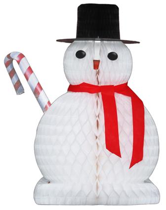 BONECO DE NEVE 480mm (48cm) ideias decoração natalina barata para decorar lojas supermercados hipermercados stand showroom expo festa são paulo GiroToy Enfeites