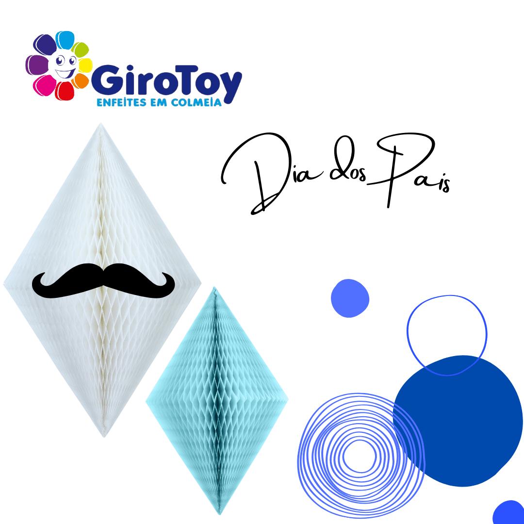 Kit dia dos Pais especial girotoy bigode