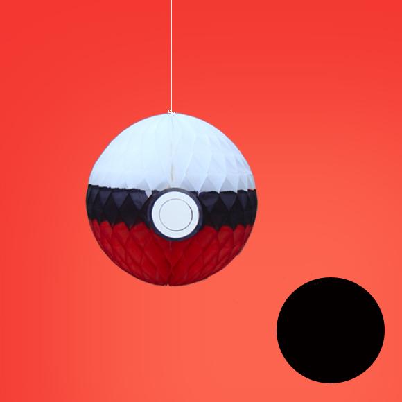 Pokemon 2 Pol Cap Pokebola Decoração - Decoração De Festa 13cm