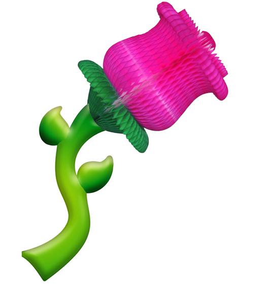 ROSA 380x940mm (38x94) Decoração de vitrine loja de modas roupas calçados decoração de shopping, festa das flores orquideas rosas de papel de seda margaridas GiroToy Enfeites