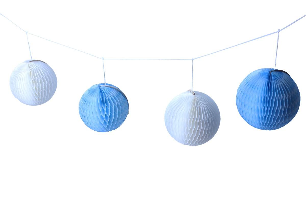 Varal de globos 13cm cada