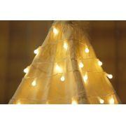 Luzes bolinhas pequenas cor amarela (40 LED) 110V - 18F
