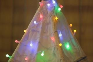 Luzes bolinhas pequenas coloridas (40 LED) 110V - 20F