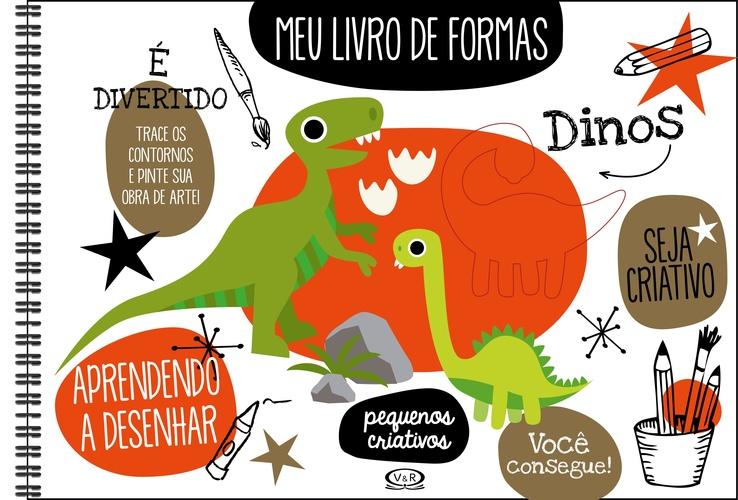 MEU LIVRO DE FORMAS DINOS -  BOOKS IMAGE