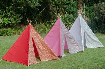 Tenda de Indio Vermelha