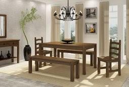 Jogo 2 Cadeiras Imperial de Madeira Maciça Pinus