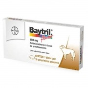 Antibiótico Baytril Flavour Cães - 150mg