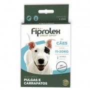 Antipulgas E Carrapatos Fiprolex Ceva 11 A 20kg - 1 Pipeta