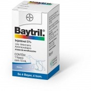 Baytril Injetável 5% - 10ml