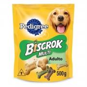 Biscoito Pedigree Biscrok Multi Cachorro Adulto - 500g
