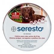 Coleira Seresto Bayer - Acima De 8 Kg