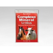 Complexo Mineral Vetbras 1kg - Suplemento Mineral
