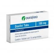 Doxifin Tabs - 100mg - 14 Comprimidos - Cartela Avulsa