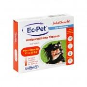 Ec-pet Antiparasitário Pulgas E Carrapatos Cães 11 A 20kg