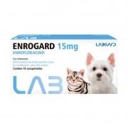 Enrogard Antibiotico Enrofloxacino P/ Cães E Gatos 15mg