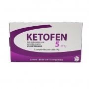 Ketofen 5mg 10 Comprimidos Ceva