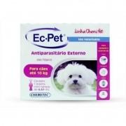 Kit 2 Ec-pet Antiparasitário Pulgas/carrapatos Cães Até 10kg
