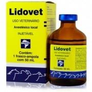 Lidovet Injetável 50ml - Bravet