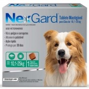Nexgard Antipulgas/carrapatos 68mg 10-25kg - 1 Comp Original