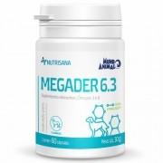 Nutrisana Megader 6,3 Suplemento Mineral Cães 60 Capsulas