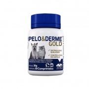 Pelo E Derme Gold - Suplemento Vetnil - 30g - 30 Comprimidos