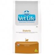 Ração Farmina Vet Life Feline Diabetic Para Gatos - 2kg