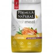 Ração Fórmula Natural Fresh Meat Gato Adulto Pelo Longo 1kg