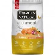 Ração Fórmula Natural Freshmeat Gatos Castrados Salmão 1kg