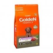 Ração Golden Filhote Mini Bits Carne 10kg - Cães Porte Peq