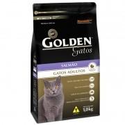 Ração Golden Gatos Adultos Salmão 1kg