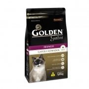 Ração Golden Premium Gatos Castrados Sabor Frango 1kg