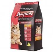 Ração Magnus Super Premium Salmão E Arroz Para Gatos 3kg