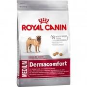 Ração Royal Canin Medium Dermacomfort Cães Adultos 10,1 Kg