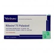 Rilexine Palatável 75mg Na Caixa Com 14 Comprimidos