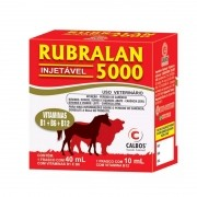 Rubralan 5000 Injetável - 50ml
