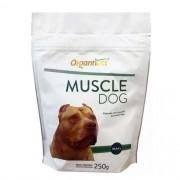 Suplemento Muscular Para Cães Muscle Dog Organnact 250g