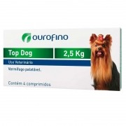 Vermífugo 2,5 Kg 4 Comp - Top Dog