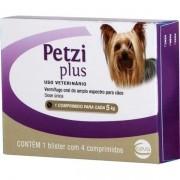 Vermífugo Ceva Petzi Plus Cães Até 5kg - 4 Comprimidos 350mg