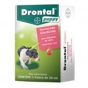 Vermífugo Drontal Puppy Filhote Frasco Com 20 Ml Bayer