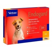 Vermífugo Virbac Endogard Cão 10 Kg Cx Lacrada 2 Comprimidos