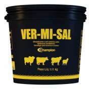 Vermisal 1,1kg Da Champion Original Sal Mineral