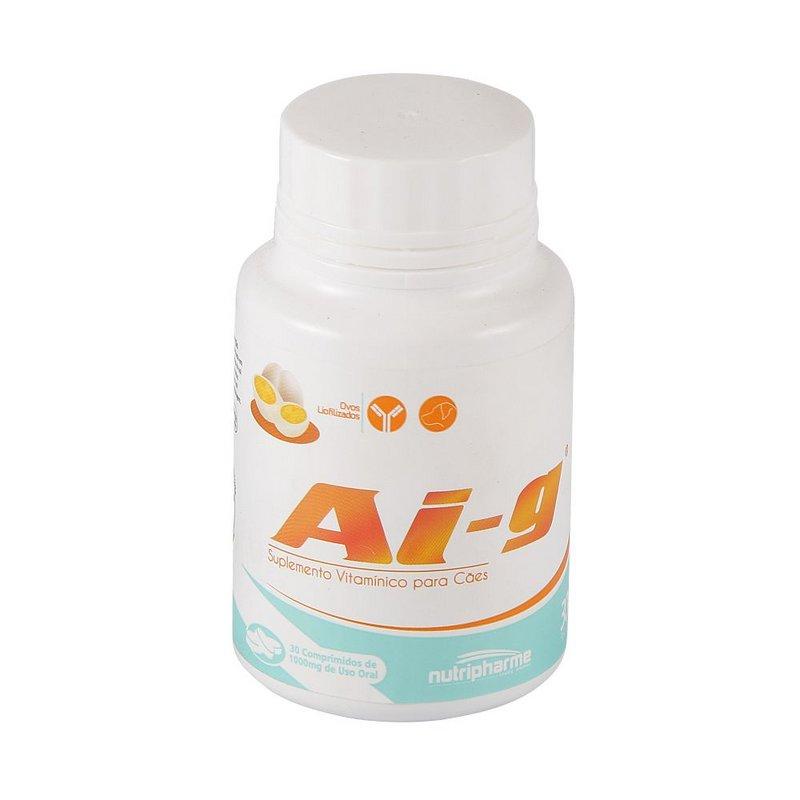 Ai-g 1000mg - Suplemento Vitamínico Para Cães 30 Comprimidos
