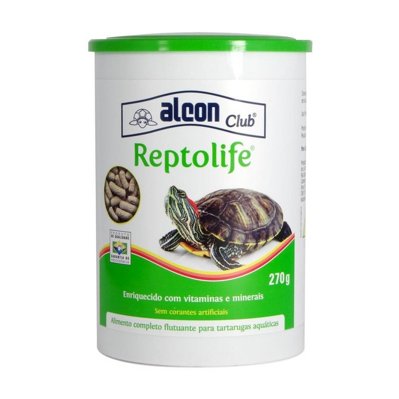 Alimento Alcon Para Repteis Reptolife - 270g