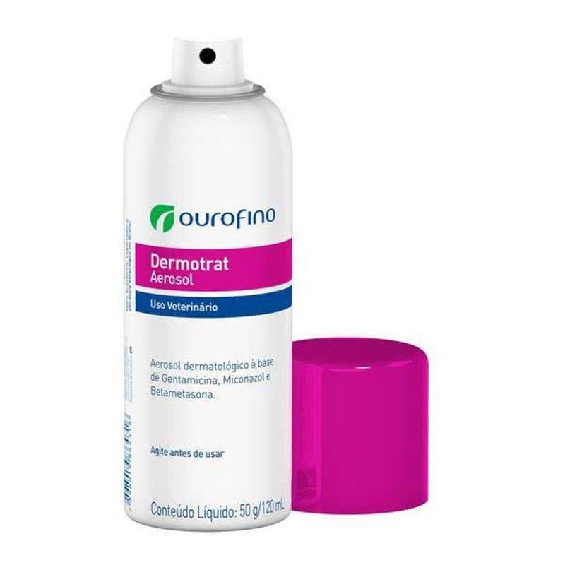 Anti-inflamatório Ouro Fino Dermotrat Aerosol - 120 ml