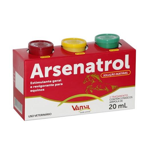 Arsenatrol 3 Frasco - 20ml