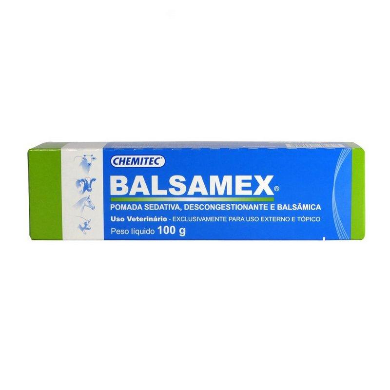 Balsamex 100g Pomada Sedativa E Descongestionante