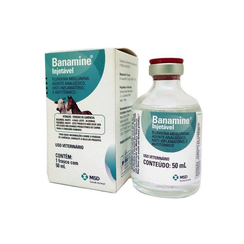 Banamine Injetável - 50ml