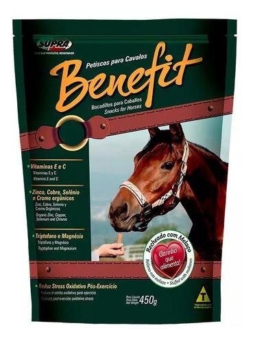 Benefit Petisco Biscoito Para Cavalos 450 Gramas Supra P&b