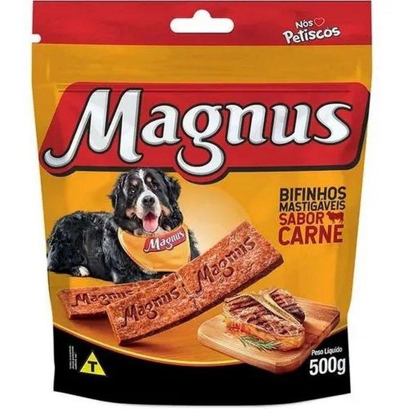 Bifinho Magnus Mastigáveis Sabor Carne 500g - Aproveite